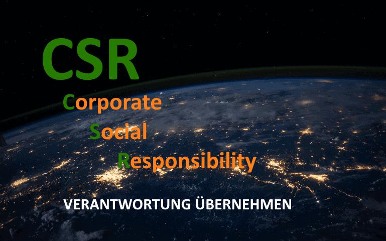 CSR Nachhaltigkeit